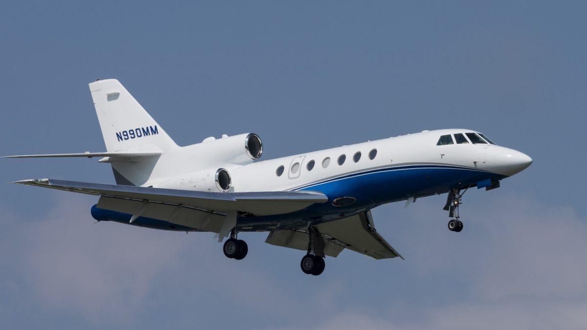 The Falcon 50 utilizes the TFE731-3-1C