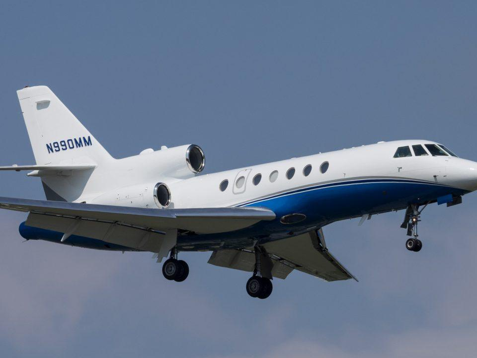 The Falcon 50 utilizes the TFE731-3-1C