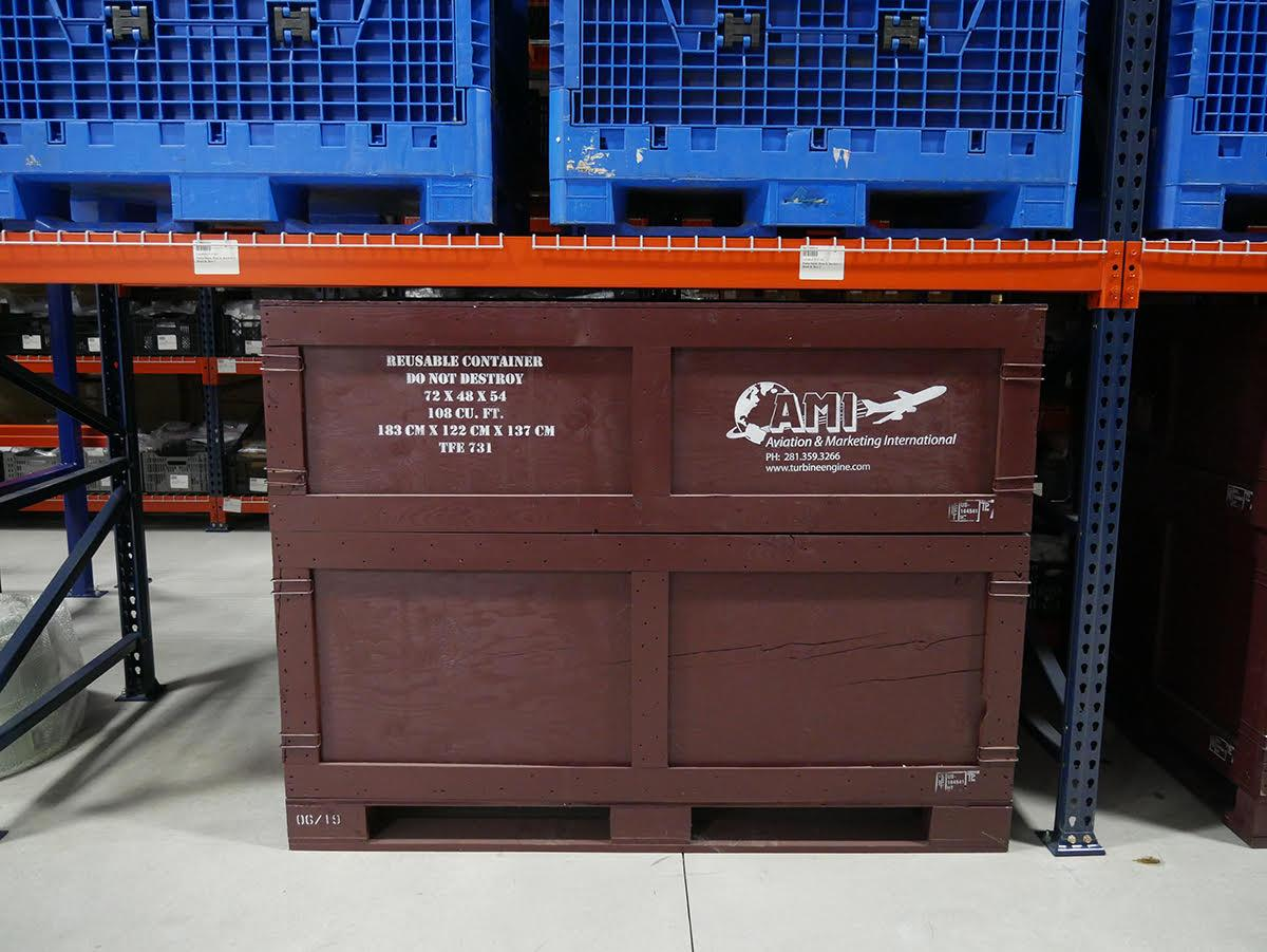 TFE731 Engine Shipping Crate